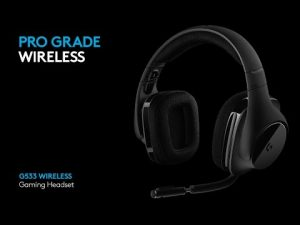 New Logitech G G533 Wireless Gaming Headset