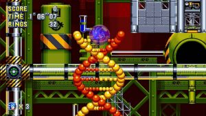 New Sonic Mania Videos Reveal Chemical Plant Zone
