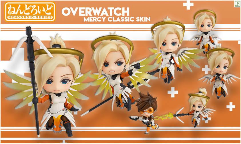 Nendoroid Overwatch Mercy Classic Skin Figure Standing (2)