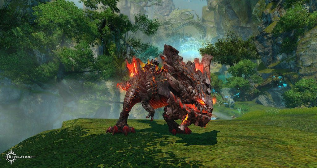 Revelation Online opens up high level Eternal Chasm Raid - Flameborn Tyrant