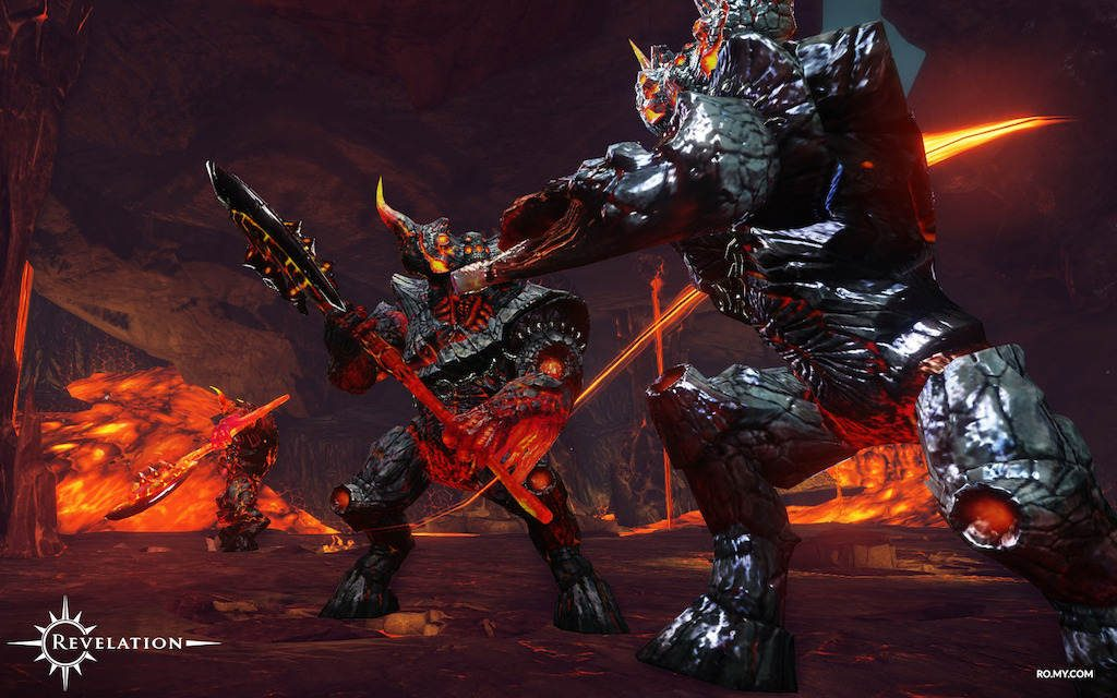 Revelation Online opens up high level Eternal Chasm Raid - The Three Gatekeepers