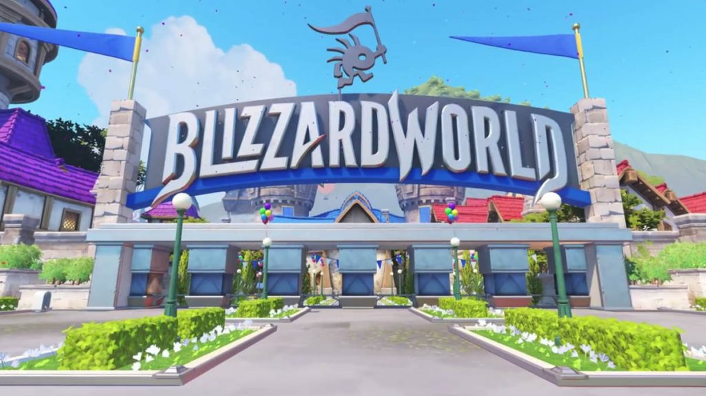 New Blizzard World Map Revealed for Overwatch