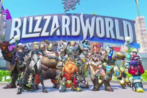 Overwatch Blizzard World New Skins